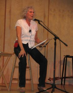 Jennie reads at Occidental Center for the Arts
